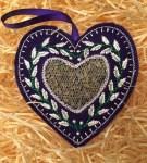 Lavender filled heart2