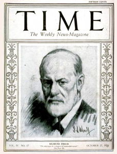 Freud op Time cover