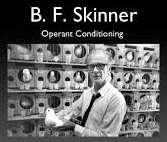 Skinner met zijn proefdieren