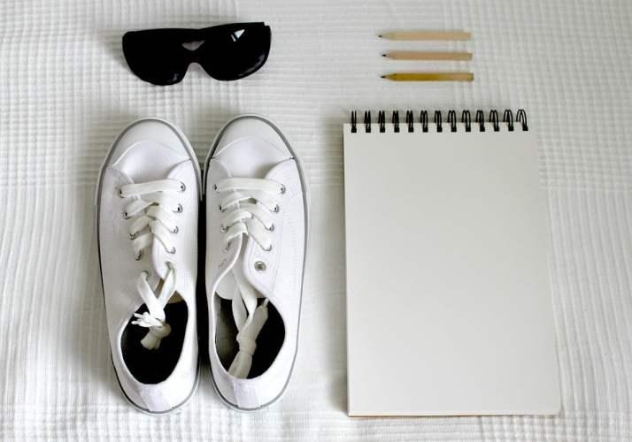 Comment nettoyer ses baskets blanches en cuire ou en toile
