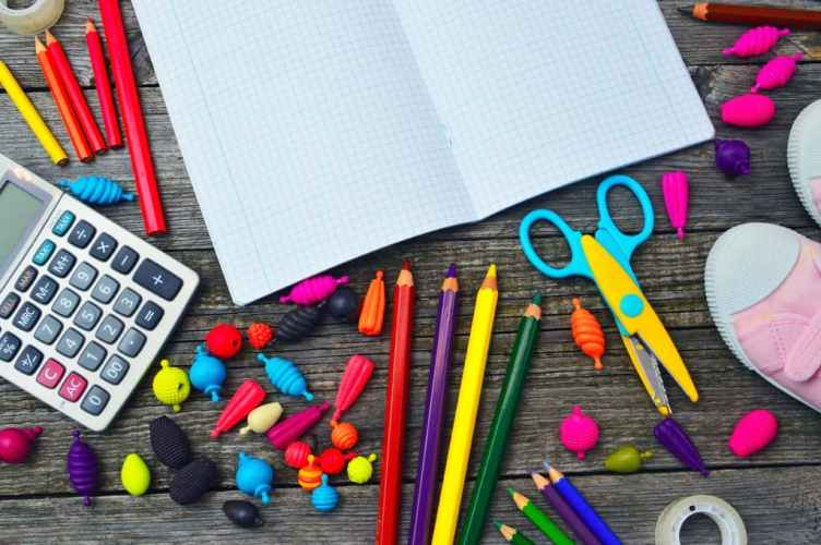 les fournitures scolaires pour la rentrée