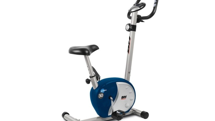 velo appartement h261b gris argente bh fitness