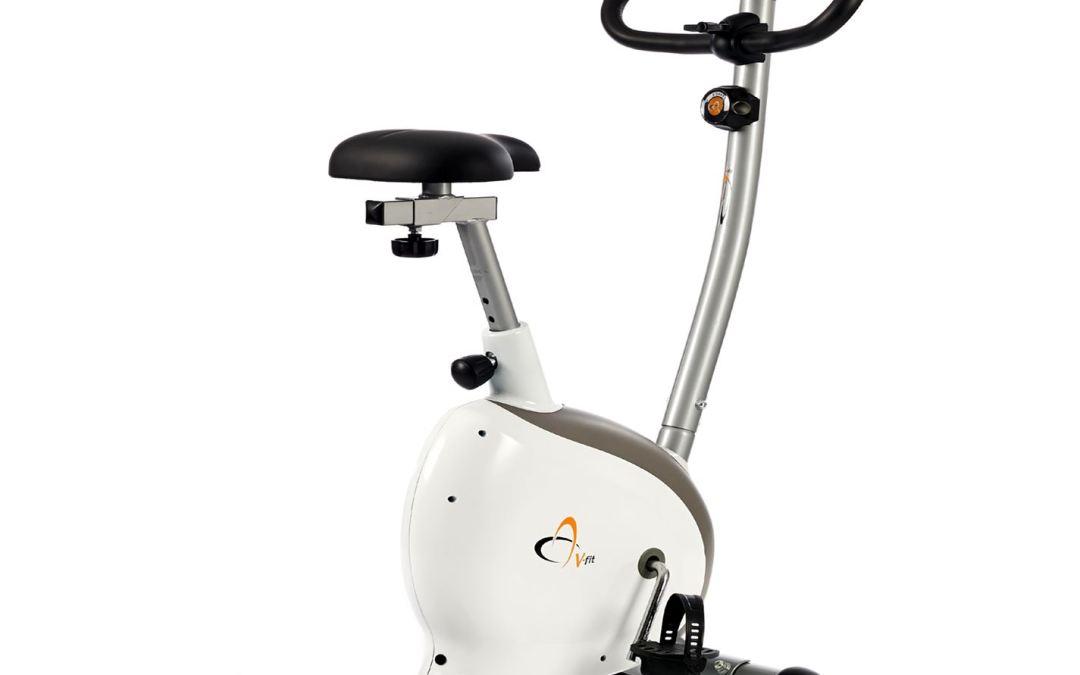 Test du vélo d'appartement V-Fit G-UC