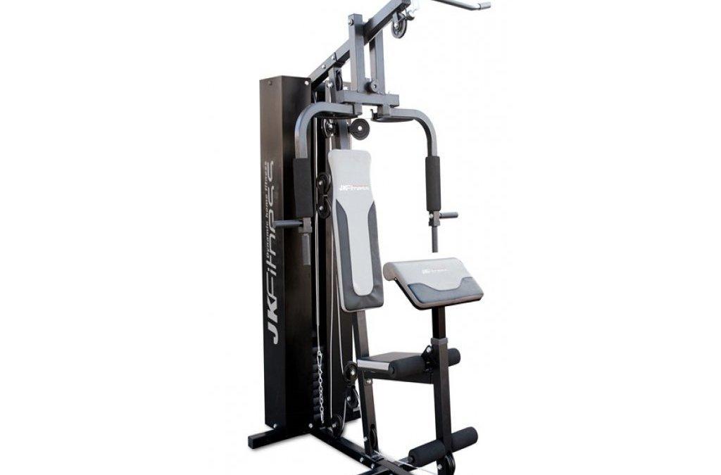 Test de la Station Poids JK Fitness 70 kg 60 97 professionnelle multifonction Banc gym