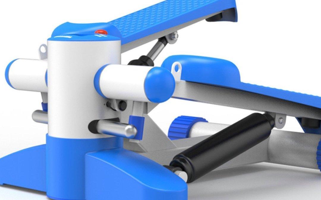 Test du Stepper Multifonctionnel Muet Stovepipe Fitness Minceur Matériel D'exercice Maison 36 * 36 * 50 Cm,Blue de la marque Wang