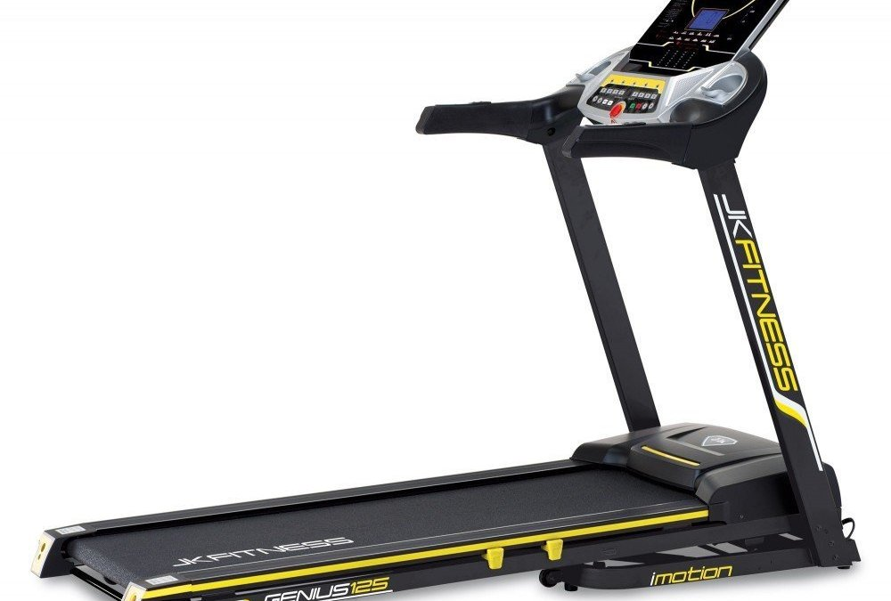 Test du Tapis de course compétitives 125 Tapis électrique MP3 USB Sport de la marque JK Fitness