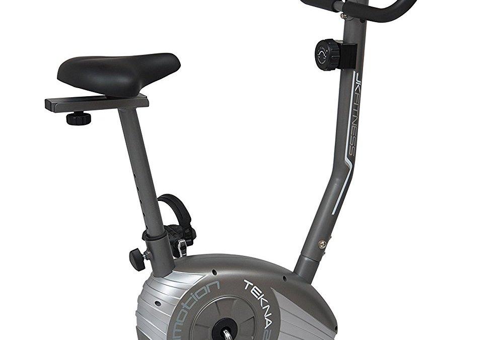 Test du vélo d'appartement magnétique JK Fitness les Motion Tekna 205 – Volant kg. 6 avec 8 niveaux de résistance manuel + ordinateur
