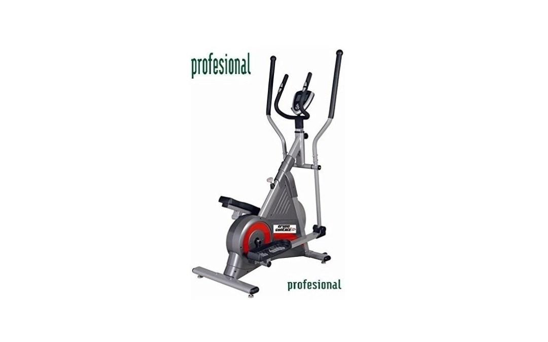 Test du vélo d'exercice elliptique professionnel avec écran d'information de la marque Grupo Contact