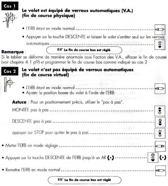 Reglage Programmation Des Fins De Course De Moteur Franciaflex