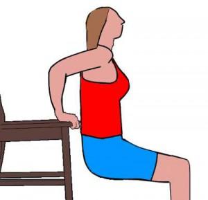 6 exercices simples pour raffermir le dessous des bras