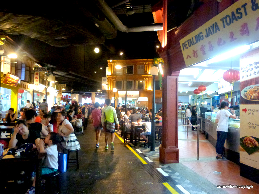 Food Court Singapour Sentosa