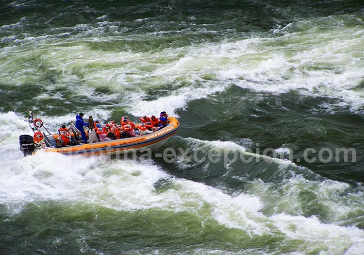 rafting chutes d'iguazú