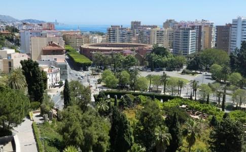 Vue sur Malaga