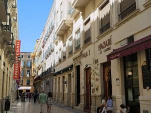 centre-ville de Malaga vacances