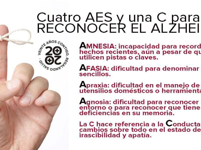 Síntomas de alzheimer
