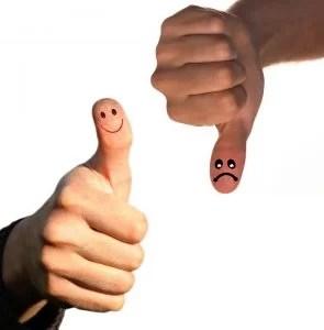Afronta los problemas con optimismo