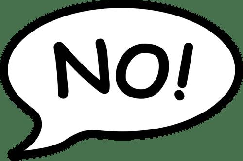 Beneficios de decir no