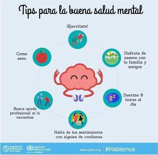 Tips para una buena salud mental