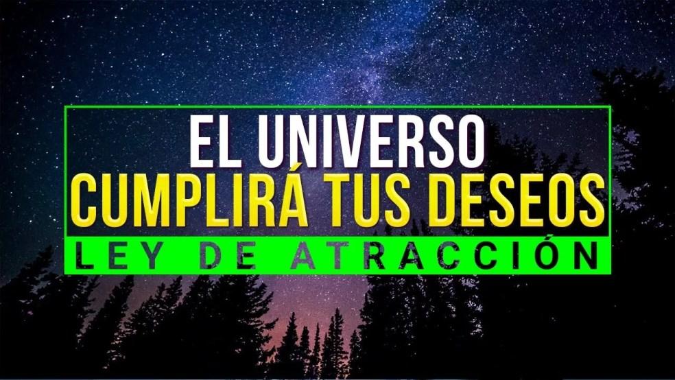 EL UNIVERSO TRABAJARÁ PARA TI CUMPLIENDO TUS SUEÑOS !!!! HAZ ESTO [ LEY DE ATRACCIÓN ]