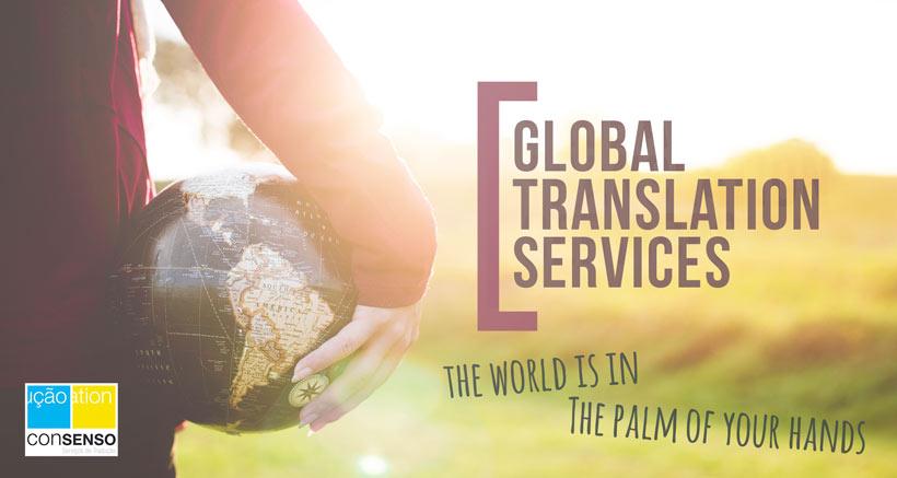 Serviços de Tradução - Consenso Global