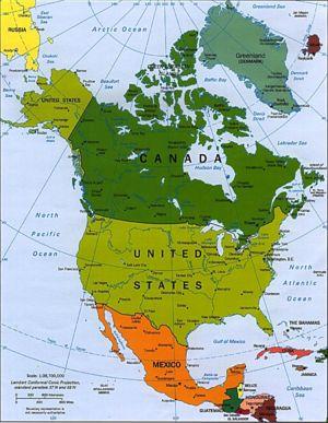 north america conservapedia