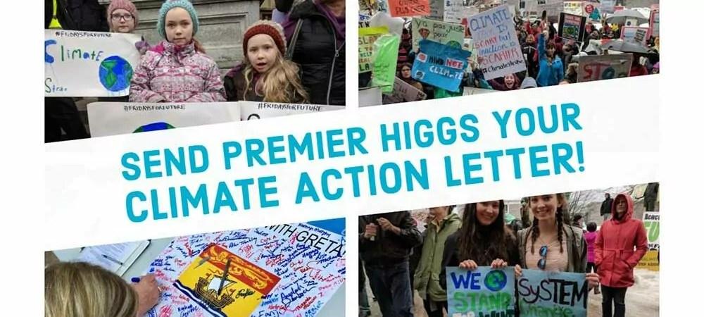 Student-led #FridaysforFuture climate rally at the New Brunswick Legislature, March 2019. Photo: Jon MacNeill