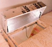 Therma-Dome Attic Stair Insulation Covers