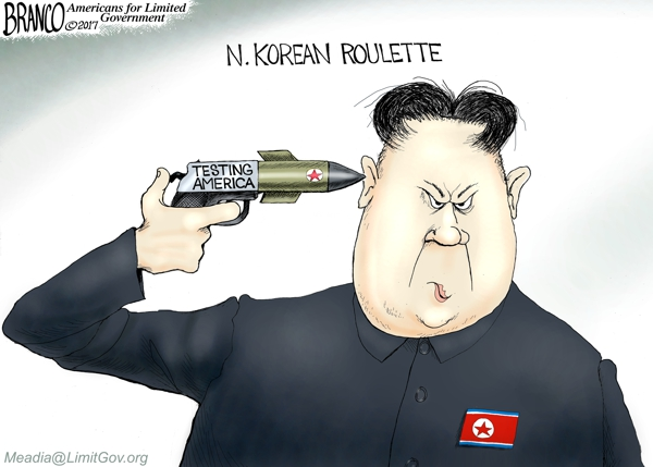 Image result for branco cartoons more sanctions on north korea