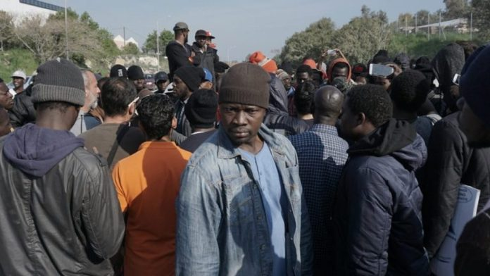 Image result for Over 3,000 African migrants stranded in Mexico