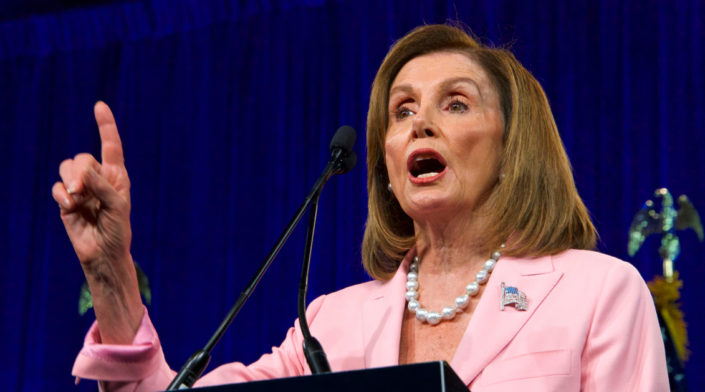 Op-ed: On round two, Nancy Pelosi loses her grip