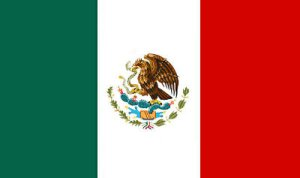 Flag of Mexico, country of refugees. (Or can a new President fight corruption by removing disrespected laws?) Trump replaced NAFTA with a new bilateral agreement. But why do so many of Trump's opponents fly the Mexican flag, anyway? Besides: Mexican immigration law is a lot harsher than ours.
