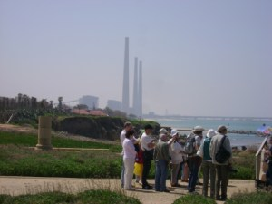 The Orot Rabin power station, south of Caesaria Maritima. Israel's oil might make this obsolete.
