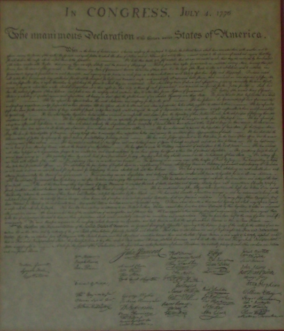 The Declaration of Independence, the product of American exceptionalism, lists many ways to be an enemy of the state. A Declaration of Cybernetic Independence is now in order.