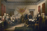 The Declaration of Independence sets forth the relationship between government and people. It also defines liberty as an inalienable right of the people. The Signers, looking at American today, might say: We warned you.