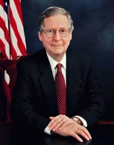 Sen. Mitch McConnell--the face of cowardice on the debt ceiling