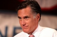 Mitt Romney. Will Hurricane Sandy give him New Jersey, though he didn't even campaign here?