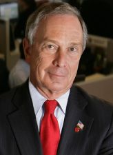 Michael Bloomberg, who called on police to strike for gun control