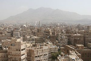 Sanaa, capital of Yemen, site of the most recent Muslim anti-American riots