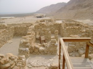 Qumran, which long held the Dead Sea Scrolls. The New York Times lent credence to a dubious claim to the Scrolls by Muslims. Shockingly, Ambassador Pickering fails to recognize that the Scrolls establish the Jewish connection to the Land.