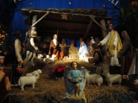 A Christmas Nativity scene - not a bland, nondescript holiday display
