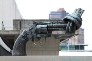 The smoke screen leads to worldwide confiscation of guns