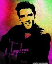 Elvis Presley, a rock star who was not happy.
