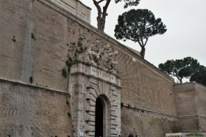 Pope Francis forgot to mention: the Vatican has walls.