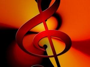 A symbol of music