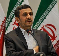 Mahmoud Ahmadinejad attends a UN Agenda 21 conference.