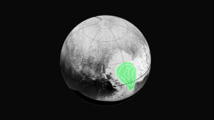 Note the lake of carbon monoxide in the western lobe of the heart on Pluto.