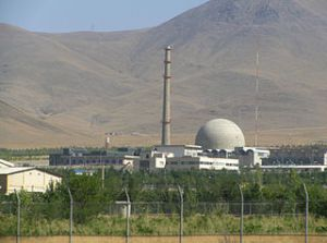 A nuclear reactor in Iran. Part of the Iran nuclear weapons program, or not?