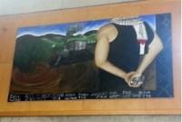 Mural 1: throwing stones