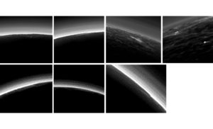 Clouds on Pluto