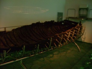 Ambassador Pickering helped preserve this ancient boat.